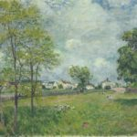 View of the Village – Alfred Sisley