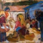 Village Market in Cardoso  – Amadeo de Souza-Cardoso