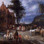 Village street – Maurice Utrillo