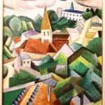 Villaggio di collina – Auguste Herbin