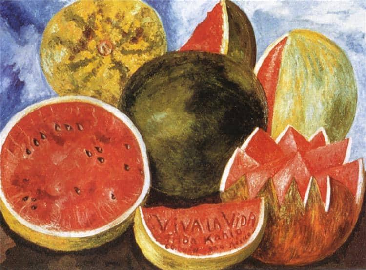 Viva la Vida, Watermelons - Frida Kahlo