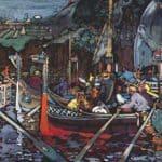 Volga song –  Wassily Kandinsky