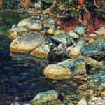 Water and stones under Palaccuolo – Alexander Ivanov