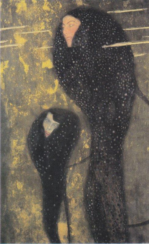 Water Nymphs (silverfish) – Gustav Klimt
