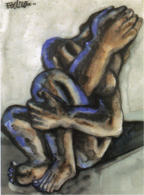 Weeping Woman - Fernando Botero