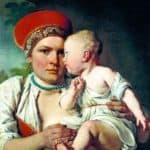 Wet-Nurse with a Child – Alexey Venetsianov