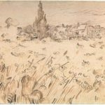 Wheat Field with Cypresses – Vincent van Gogh