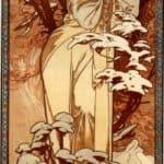 Winter – Alphonse Mucha