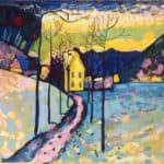 Winter Landscape –  Wassily Kandinsky