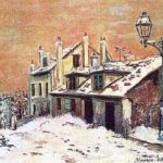 Winter Scene – Maurice Utrillo