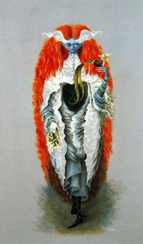 Witch Going To The Sabbath - Remedios Varo