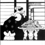 Woman in a Bookshop – Aubrey Beardsley