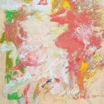 Woman – Red Hair, Large Mouth, Large Foot – Willem de Kooning