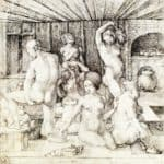 Woman`s Bath – Albrecht Durer