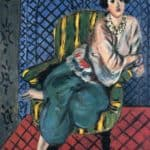 Woman sitting in a chair – Henri Matisse