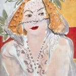 Woman with a Veil – Henri Matisse