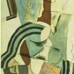 Woman with Guitar – Aristarkh Lentulov