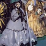 Women At The Races – Edouard Manet