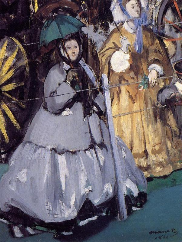 Women At The Races - Edouard Manet