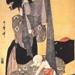 Women making dresses – Kitagawa Utamaro
