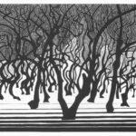 Woods near Menton – M.C. Escher