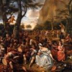 Worship of Golden Calf – Jan Steen