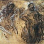 Wrestler – Alphonse Mucha