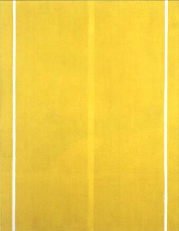 Yellow Painting - Ad Reinhardt