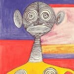 Yellow Tights  – Alexander Calder
