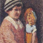 Young Girl with Doll – Henri Martin