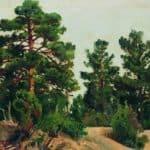 Young pines – Ivan Shishkin