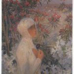 Young Woman with Flowers – Henri Martin