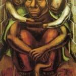 Proletarian Mother - David Alfaro Siqueiros