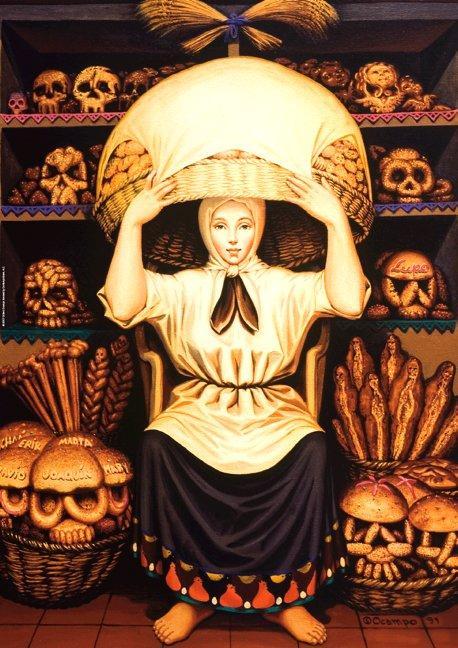 Skull - M.C. Escher