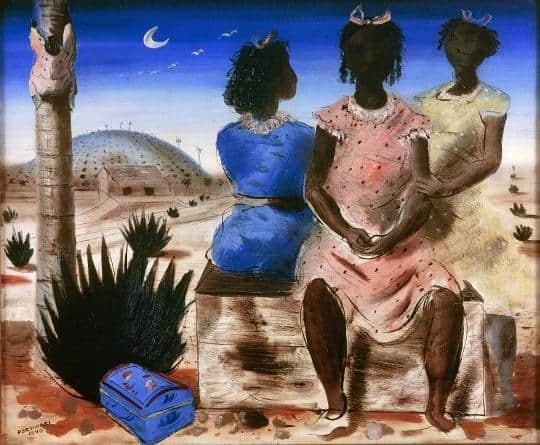 The Girls Of Arcozelo - Candido Portinari