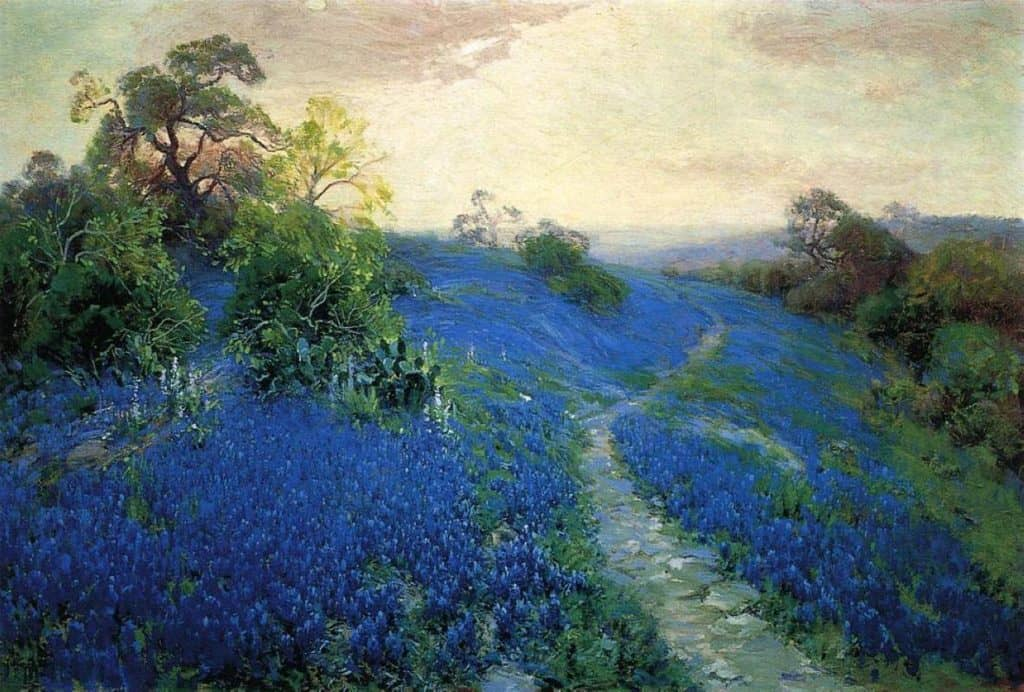 Bluebonnet Field - Robert Julian Onderdonk